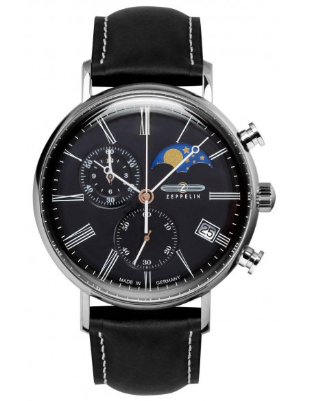 Zeppelin 7194-2 LZ120 Rome watch