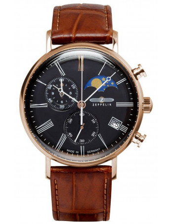 Zeppelin 7196-2 LZ120 Rome watch