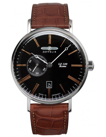 Zeppelin 7104-2 LZ120 Rome watch