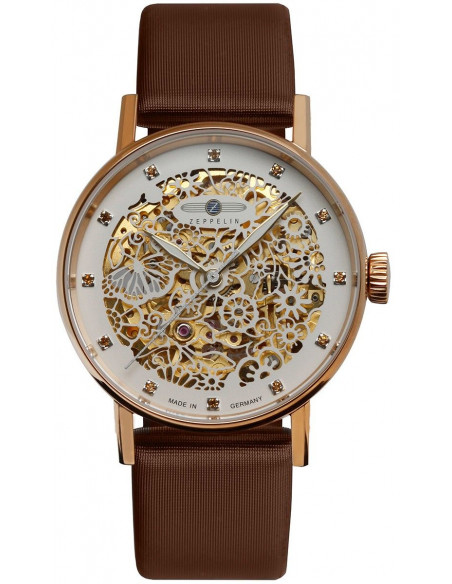 Zeppelin 7463-5 Princess of the Sky skeleton watch