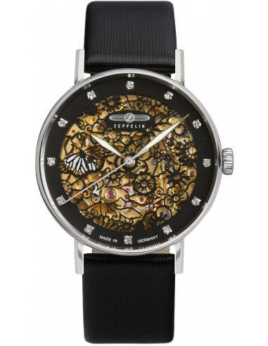 Zeppelin 7461-2 Princess of the Sky skeleton watch