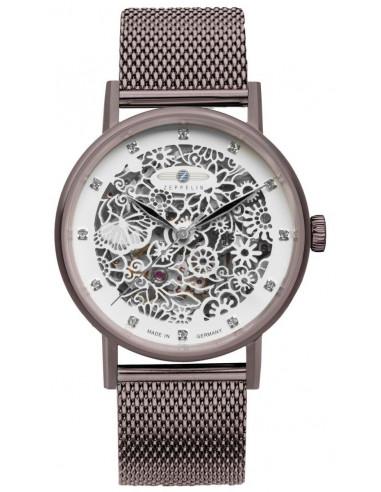 Zeppelin 7469M-5 Szkieletowy zegarek księżniczki nieba 367.059363 - 1