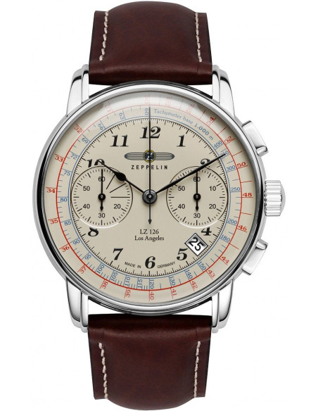 Zeppelin 7614-5 LZ126 Los Angeles watch