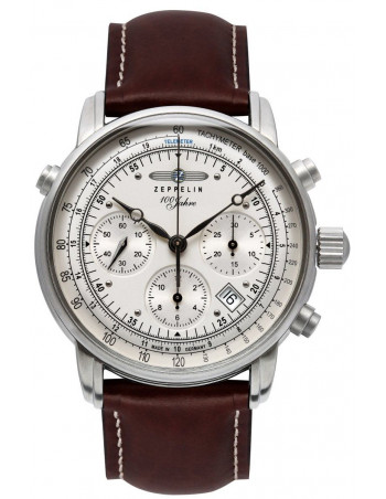 Zeppelin 7620-1 Chronometer Glashuette Observatory 100 years watch