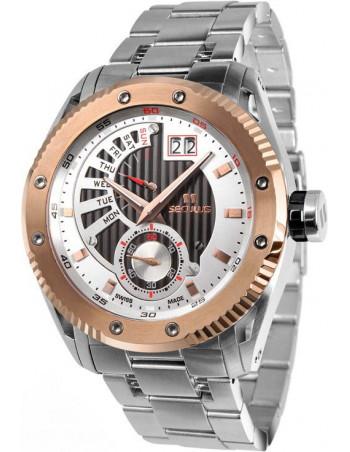 Men's SECULUS 9535.2.704P M SSR W-B Calender Watch
