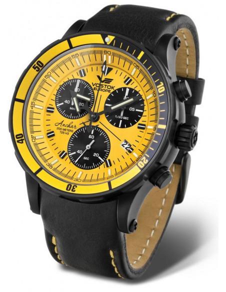 Men's Vostok Europe 6S30-5104185 Anchar Chronograph diver watch
