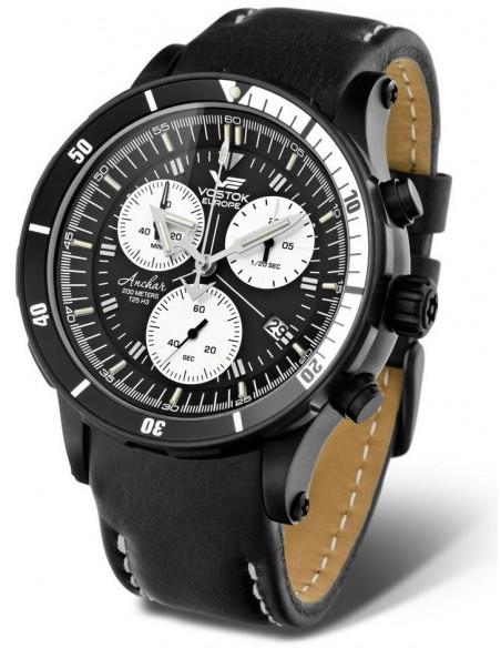 Men's Vostok Europe 6S30-5104184 Anchar Chronograph diver watch