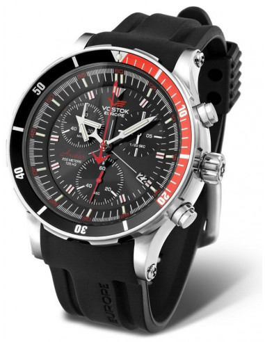 Men's Vostok Europe 6S30-5105201 Anchar Chronograph diver watch