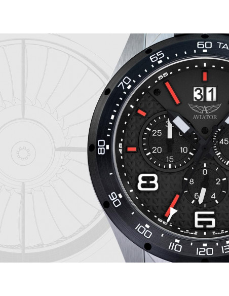 AVIATOR SWISS MIG-35 M.2.19.5.132.6 watch Aviator - 3