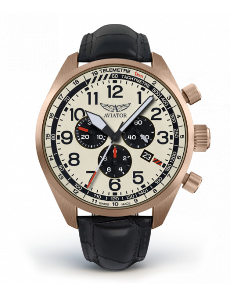 AVIATOR Airacobra P45 Chrono V.2.25.2.173.4 watch Aviator - 3