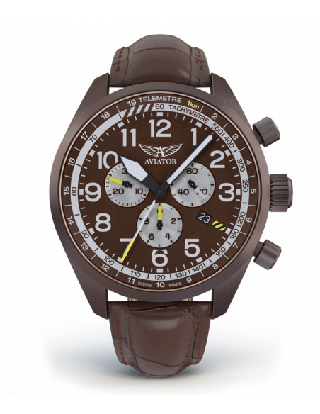 AVIATOR Airacobra P45 Chrono V.2.25.8.172.4 watch Aviator - 3
