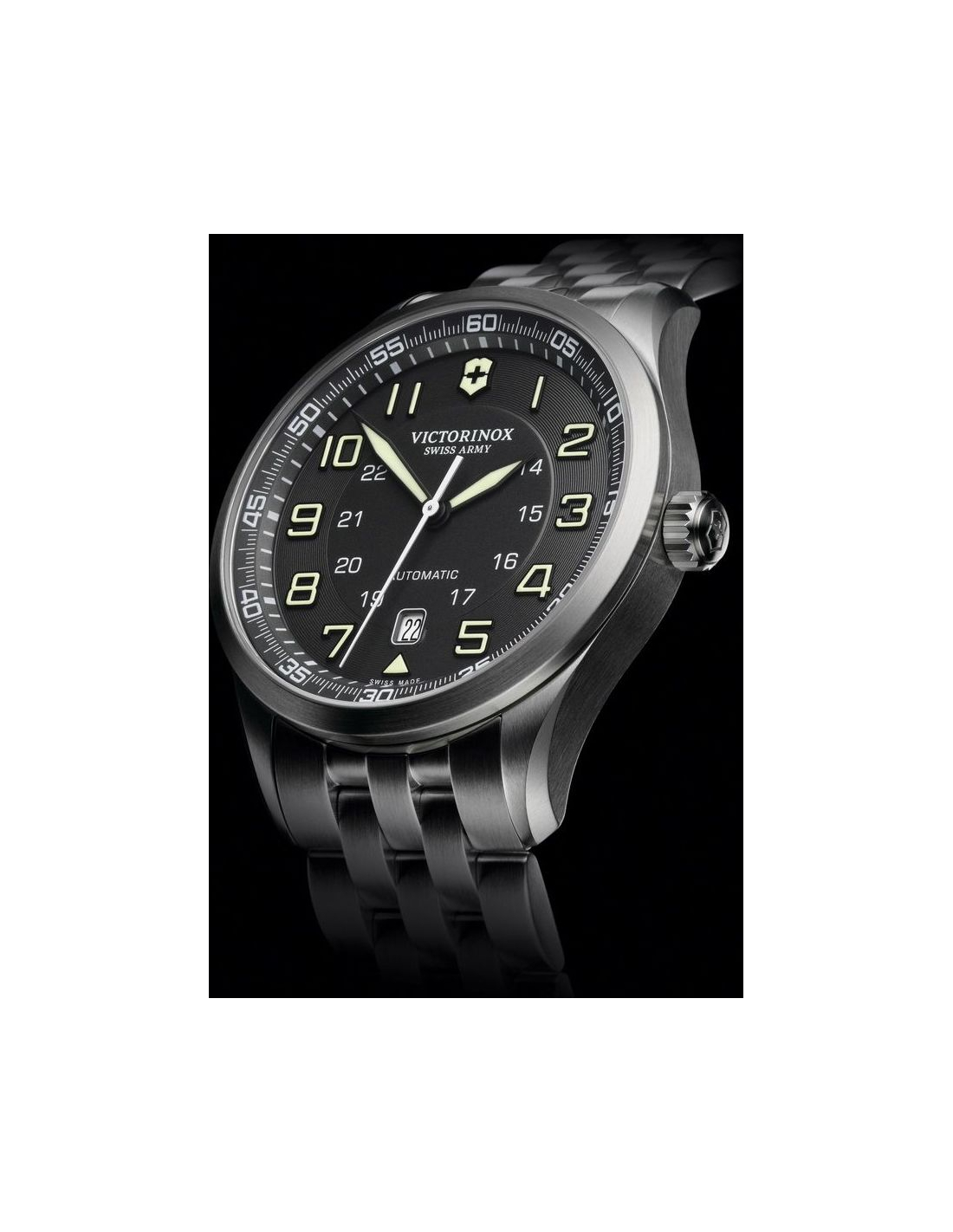 c9ae8bf7589 Previous. VICTORINOX Swiss Army 241508 AirBoss Mechanical Watch. VICTORINOX  Swiss Army 241508 AirBoss Mechanical Watch