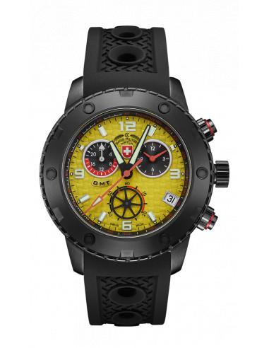Zegarek CX Swiss Military 2754 Rallye GMT Nero 1097.301715 - 1