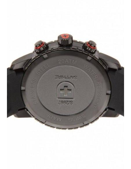 CX Swiss Military 2751 Rallye GMT Nero Watch Swiss Military - 3