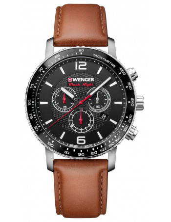 Wenger Black Night Roadster 01.1843.104 chrono watch Wenger - 1