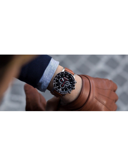 Wenger Black Night Roadster 01.1843.104 chrono watch Wenger - 4