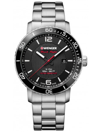 Wenger Black Night Roadster 01.1841.104 watch Wenger - 1