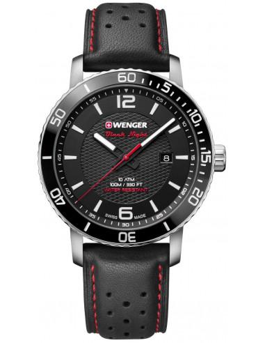 Zegarek Wenger Black Night Roadster 01.1841.101 188.708625 - 1