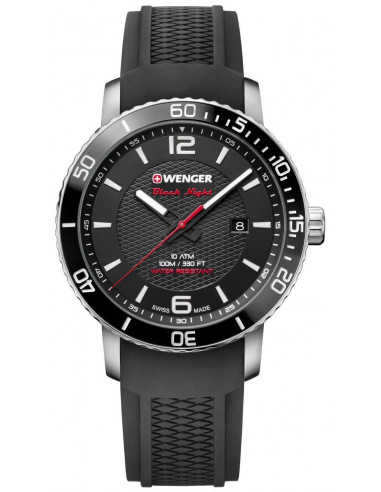 Wenger Black Night Roadster 01.1841.102 watch Wenger - 1