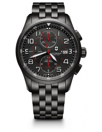Victorinox Airboss 241741 Mechanical Chronograph Black Edition watch Victorinox Swiss Army - 1