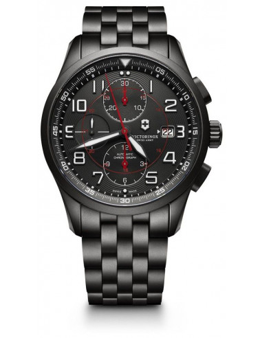 Victorinox Airboss 241741 Mechanical Chronograph Black Edition watch Victorinox Swiss Army - 1