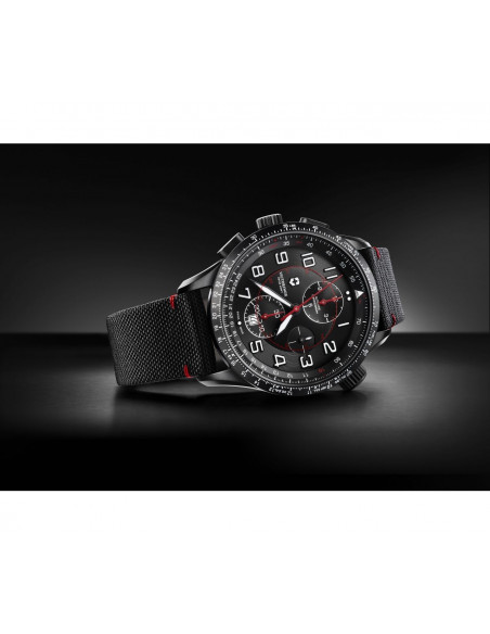 Victorinox 241716 Airboss Mechanical Black Edition Chronograph watch Victorinox Swiss Army - 2