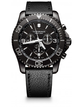 Victorinox Swiss Army 241786 Maverick Black Chronograph watch Victorinox Swiss Army - 1