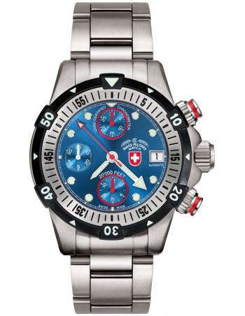 CX Swiss Military 20000 FEET blue 1947 watch