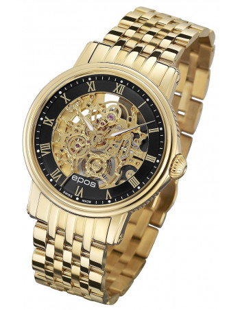 Epos Emotion 3390.156.22.25.32 Skeleton Watch Epos - 1