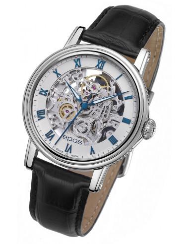 Epos Emotion 3390.155.20.20.25 Szkieletowy zegarek 1912.047708 - 1