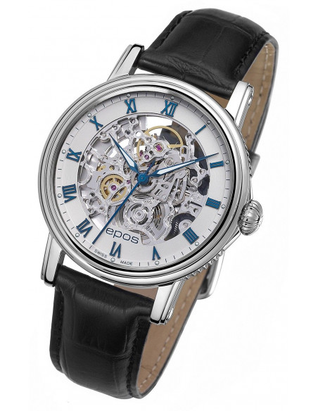 Epos Emotion 3390.155.20.20.25 Skeleton Watch Epos - 1