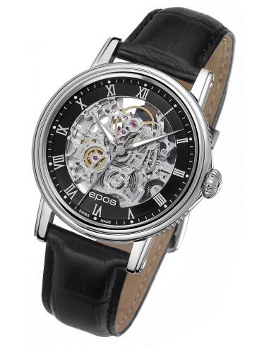 Epos Emotion 3390.155.20.25.25 Szkieletowy zegarek 1912.047708 - 1