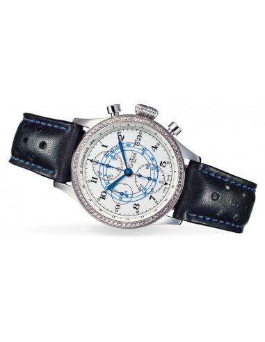 Davosa 161.009.46 Vintage Rallye Pilot Diamond watch