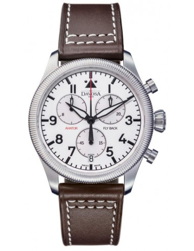 Davosa 162.499.15 Aviator Fly Back Chronograph watch