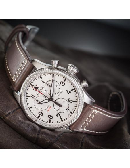 Davosa 162.499.15 Aviator Fly Back Chronograph watch Davosa - 2