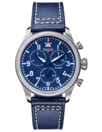 Davosa 162.499.45 Aviator Fly Back Chronograph watch Davosa - 1