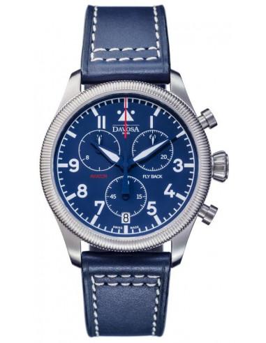 Zegarek Davosa 162.499.45 Aviator Fly Back 397.386417 - 1