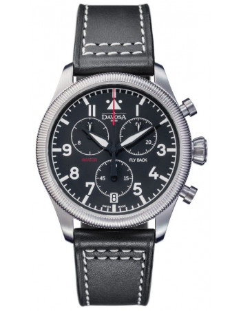 Davosa 162.499.55 Aviator Fly Back Chronograph watch