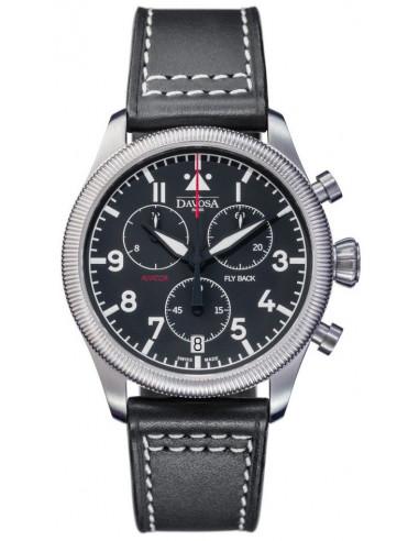 Davosa 162.499.55 Aviator Fly Back Chronograph watch