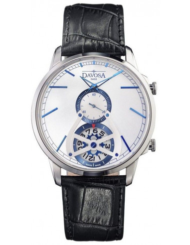 Hodinky Davosa 162.497.14 Cuore² Dual Time 397.386417 - 1