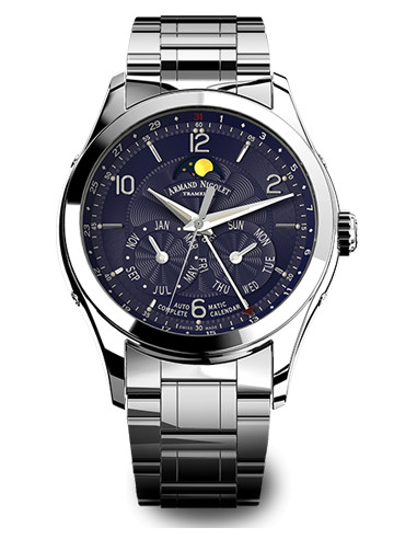 Armand Nicolet 9742B-BU-M9740 M02 Collection Zegarek mechaniczny 4093.679167 - 1