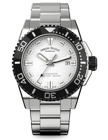 Armand Nicolet A480AGN-AG-MA4480AA JS9 diver watch