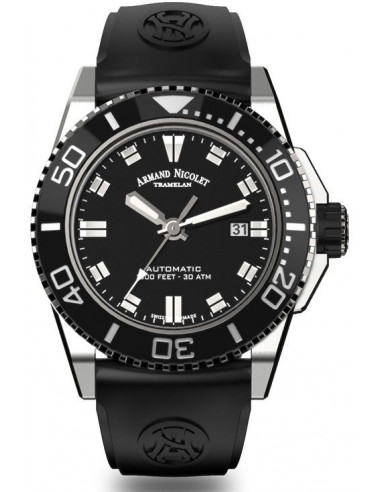 Armand Nicolet A480AGN-NR-GG4710N JS9 diver watch