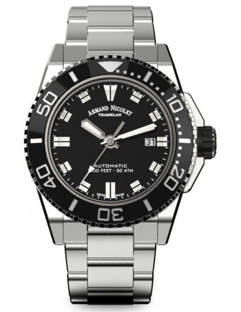 Armand Nicolet A480AGN-NR-MA4480AA JS9 diver watch