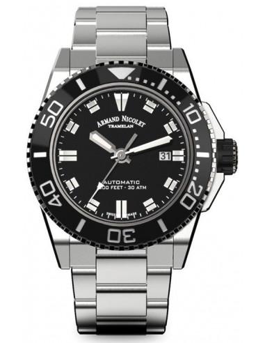 Armand Nicolet A480AGN-NR-MA4480AA JS9 diver watch