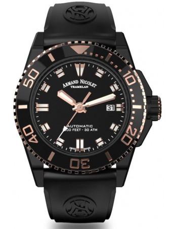 Armand Nicolet A480AQS-NS-GG4710N JS9 Taucher Uhr