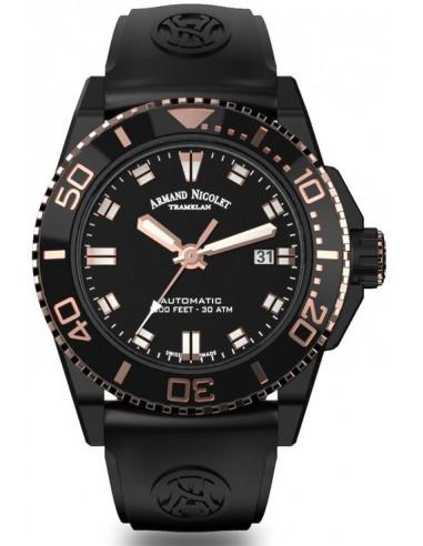 Zegarek nurkowy Armand Nicolet A480AQS-NS-GG4710N JS9 1547.610417 - 1
