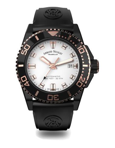 Zegarek nurkowy Armand Nicolet A480AQS-AS-GG4710N JS9 1547.610417 - 1