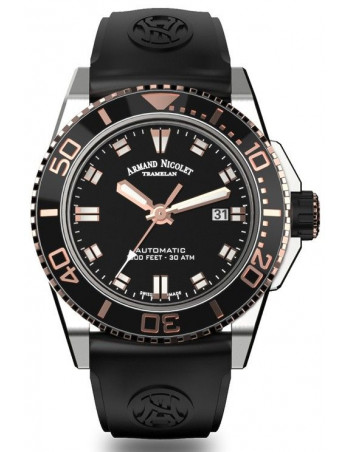 Armand Nicolet A480ASN-NS-GG4710N JS9 diver watch