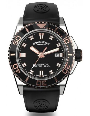 Armand Nicolet A480ASN-NS-GG4710N JS9 diver watch
